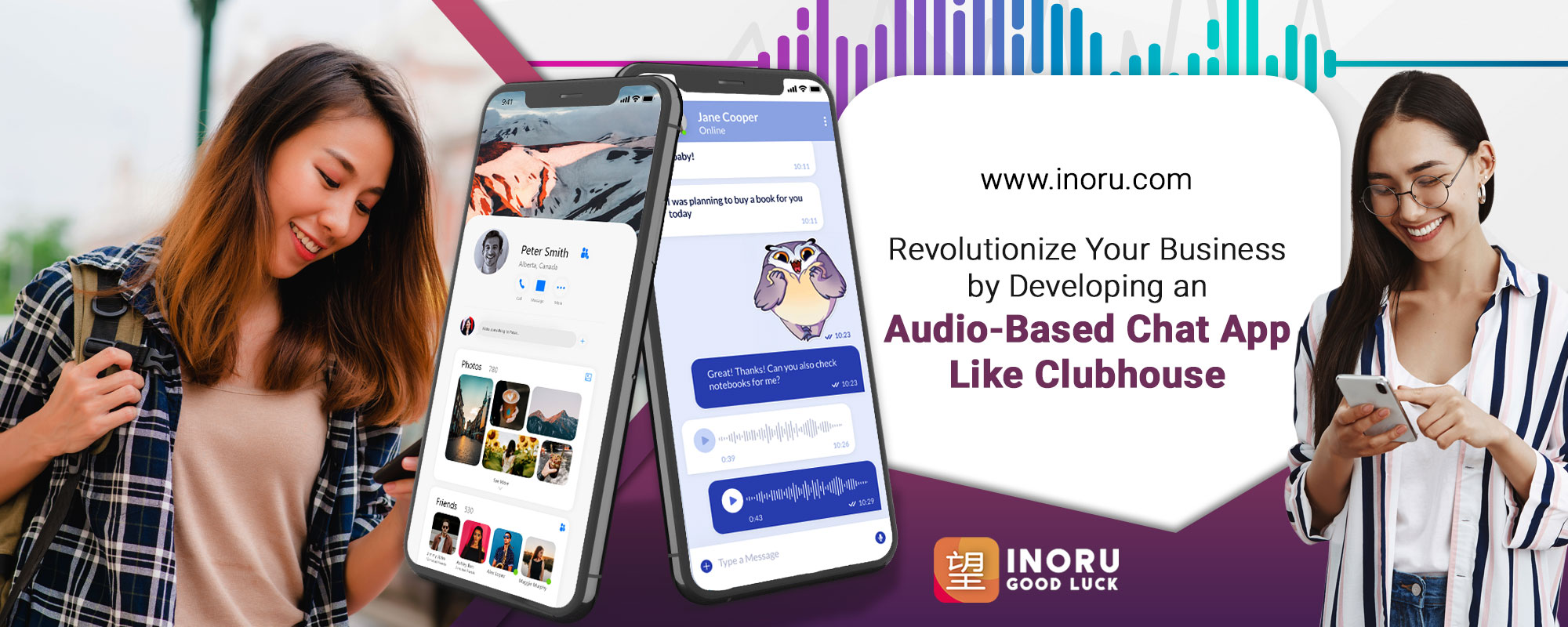 Revolutionize Your Business By Developing An Audio-Based Chat App Like Clubhouse - Inoru