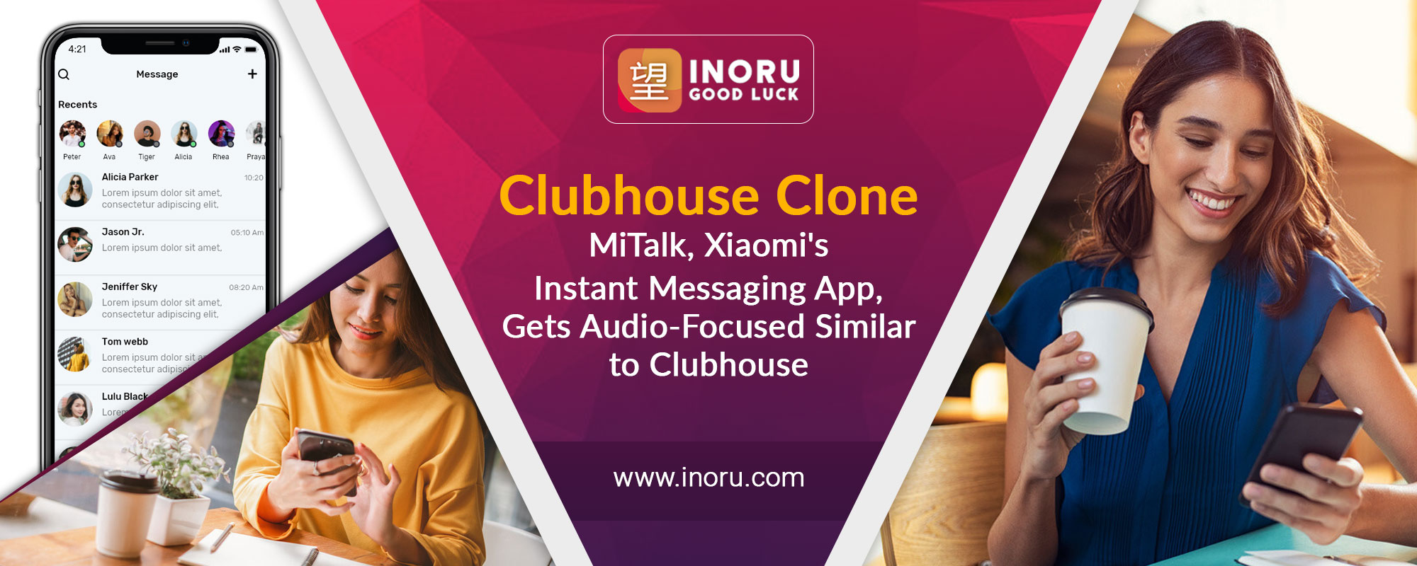 Clubhouse Clone