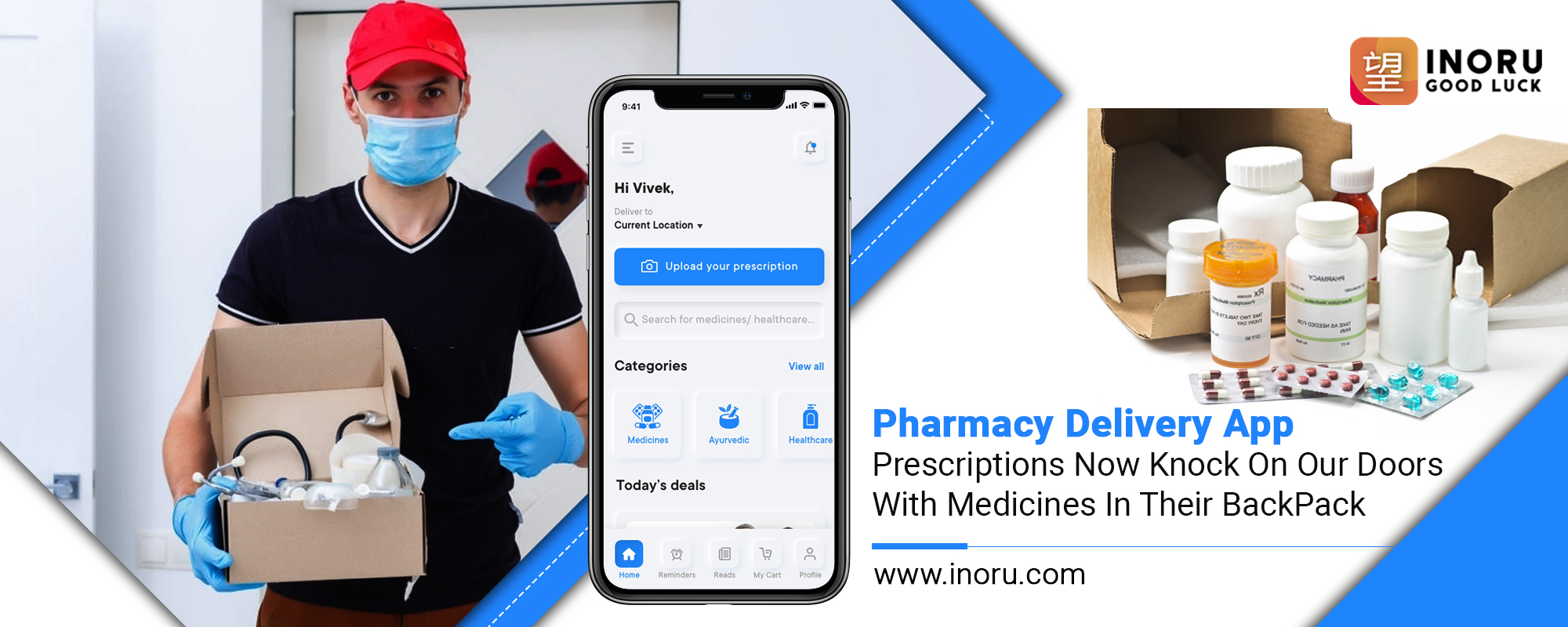 Pharmacy Delivery App