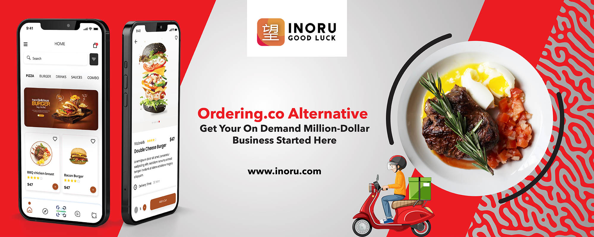 Ordering.co Alternative,Ordering.co clone,Ordering App,Food Delivery App,White-Label Food Delivery App