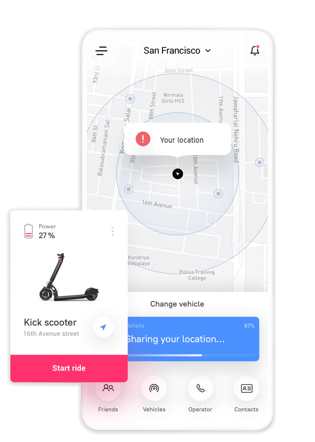 Electric Scooter App